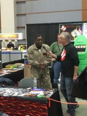 earnie hudson at awesome con 2014