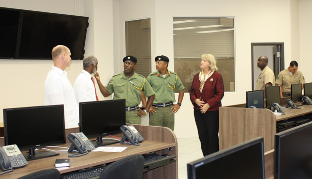 Belize Inaugurates $3Mil Joint Operations Center with U.S. and Canada