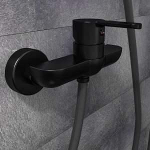 SCHÜTTE Denver dušas maisitajs - Mat Melns 44406.0