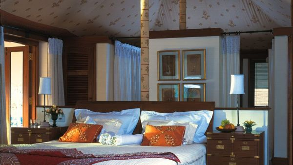 A tented villa at the Oberoi Rajvillas in Jaipur, India.