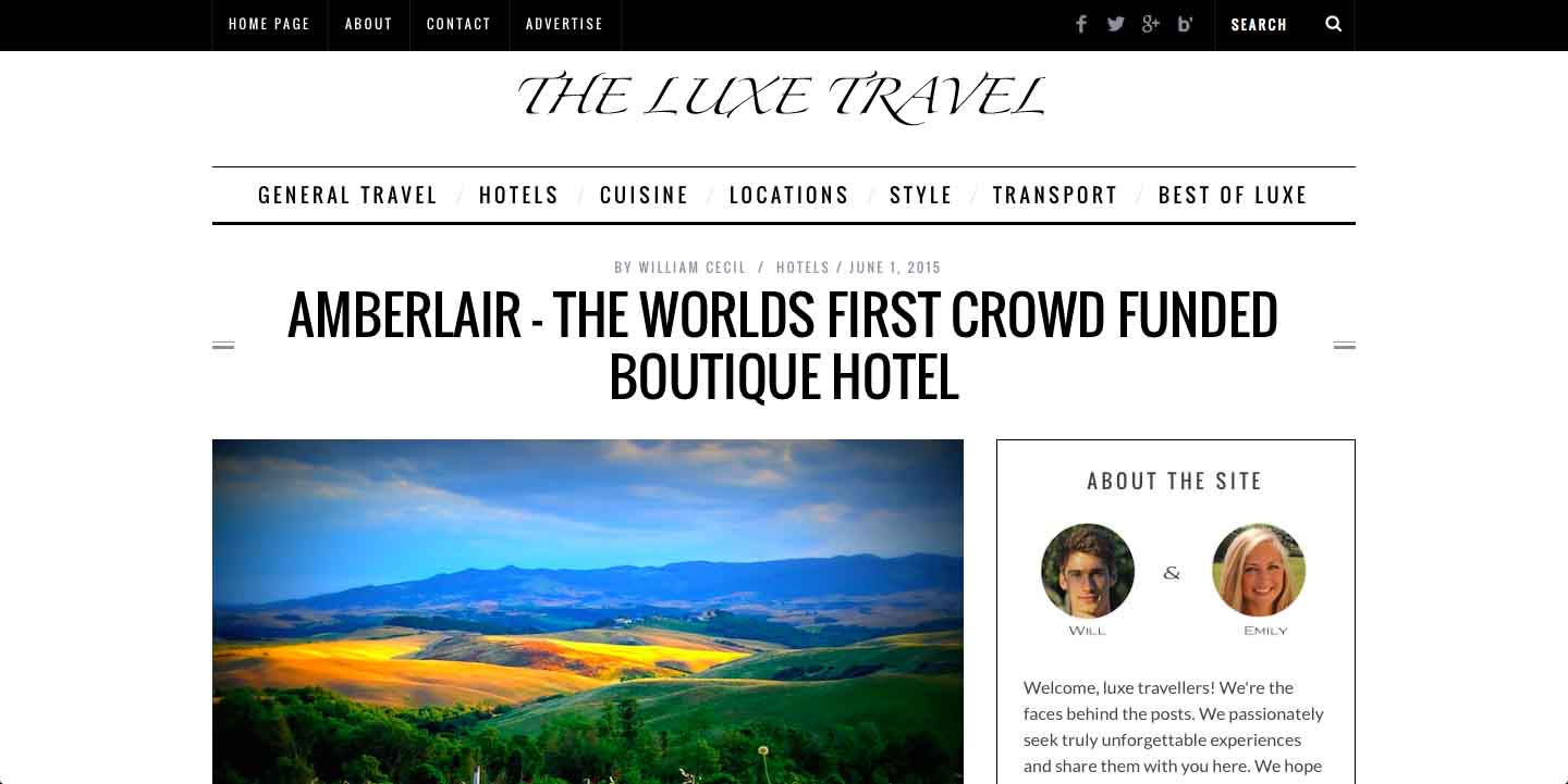 Amberlair Crowdsourced CrowAmberlair Crowdsourced Crowdfunded Boutique Hotel - The Luxe Travel