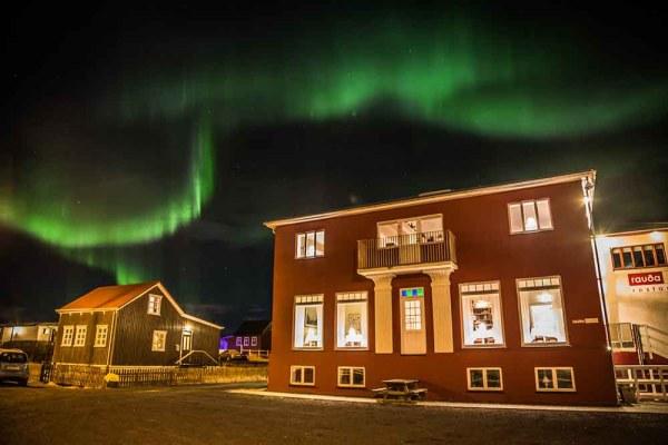 Rauða Húsið in Eyrarbakki, Iceland.