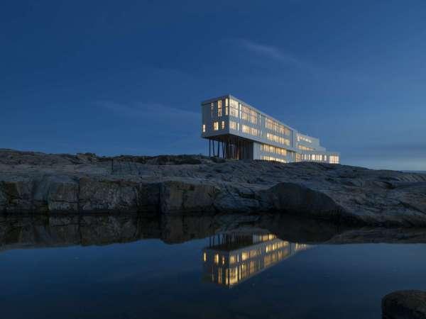 Amberlair crowdsourced boutique hotel - Fogo Island Inn.
