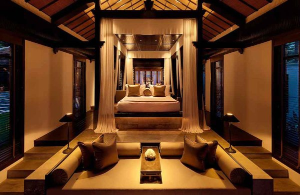 Amberlair Crowdsourced Crowdfunded Boutique Hotel - Bedroom in the Nam Hai Hotel in Vietnam.