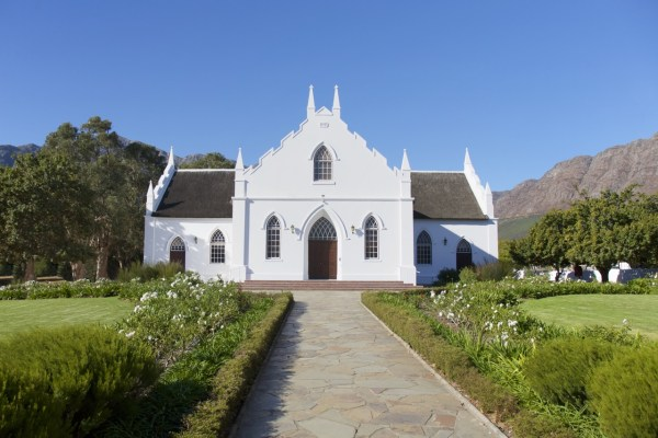Mansion in Franschhoek, South Africa