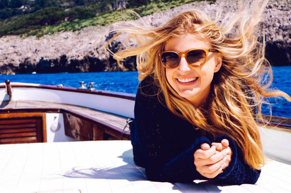 Molly Schoneveld in Capri, Italy - Where in Italy