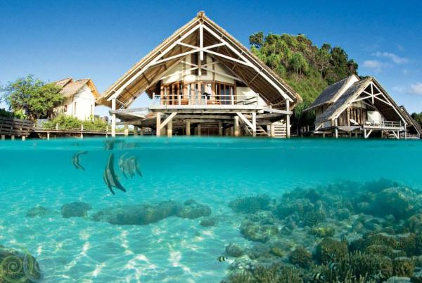 Amberlair Crowdsourced Crowdfunded Boutique Hotel Misool Eco Resort - BoutiquEco: The world's finest 15 green retreats