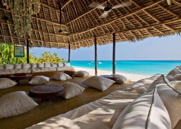 Amberlair Crowdsourced Crowdfunded Boutique Hotel Mnemba Island Zanzibar - BoutiquEco: The world's finest 15 green retreats