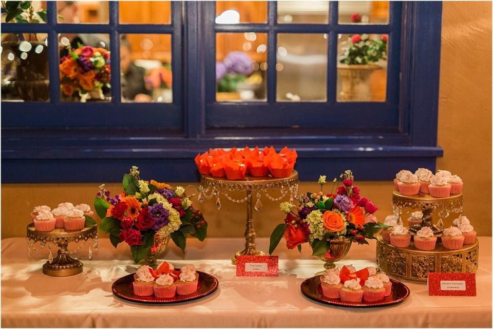 Desert table at Tucson Wedding at Private Estate.