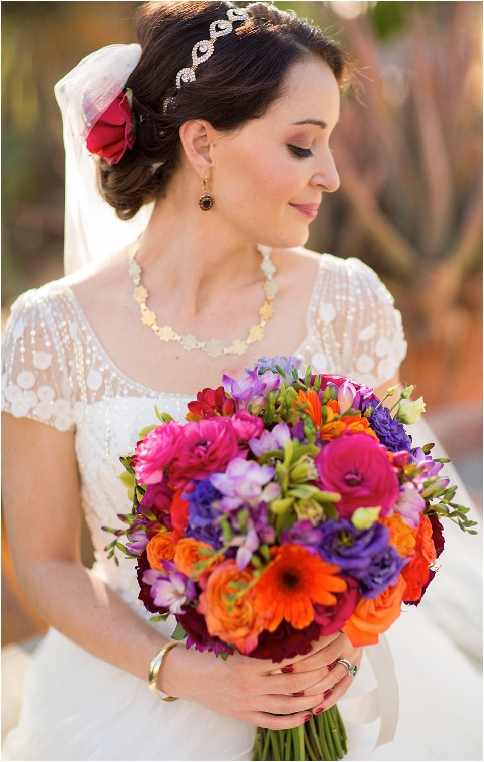 Bridal Portrait at Hacienda Del Sol, Tucson, AZ