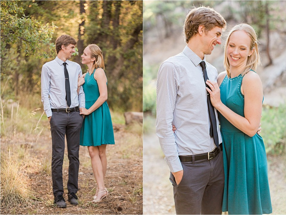 Mount Lemmon Engagement, Tucson, Arizona