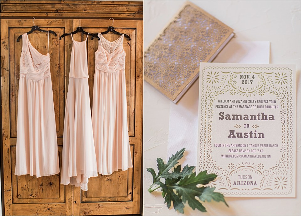 Bridal details from Tanque Verde Ranch Wedding.