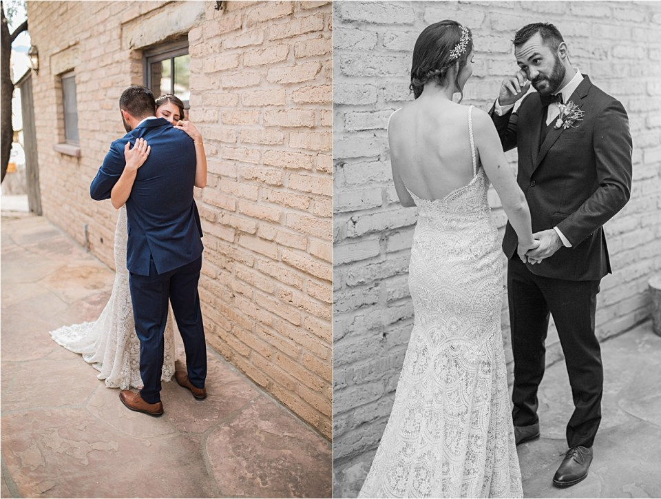 First look at Tanque Verde Ranch Wedding.
