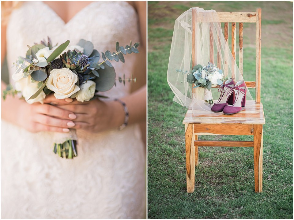 Tucson DIY Backyard Wedding Details
