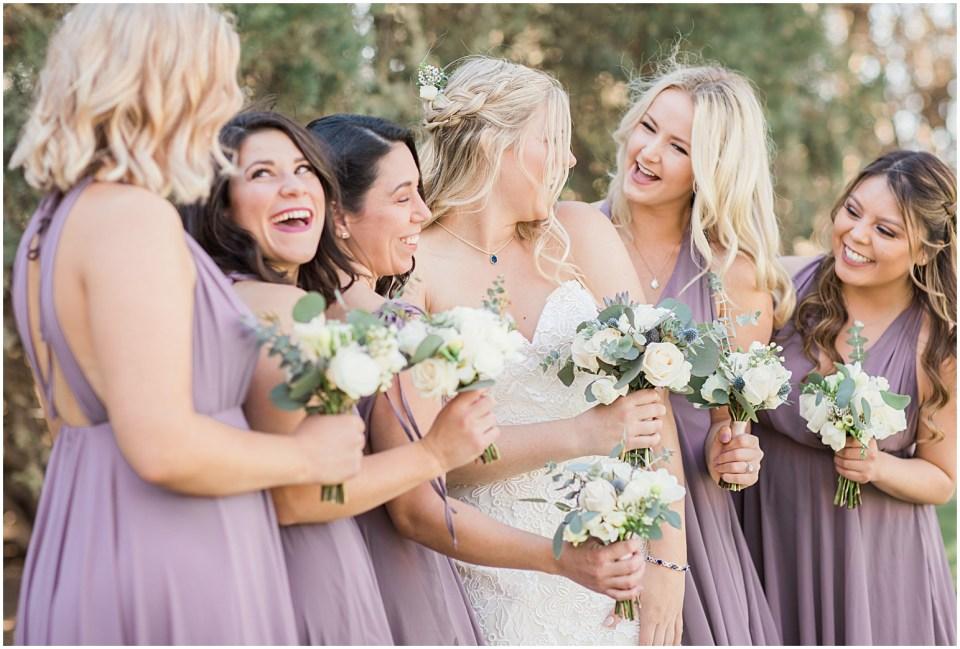 Tucson DIY Backyard Wedding Bridal Party Photos