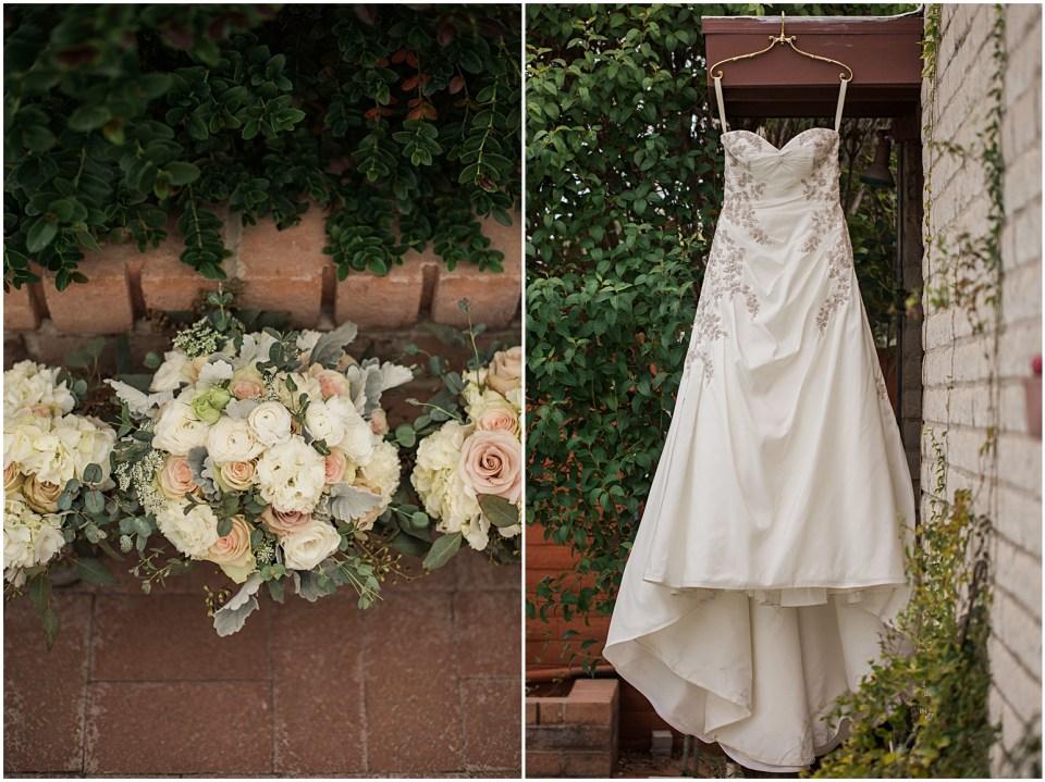 Tucson Wedding Flowers at the Savoy Opera House.