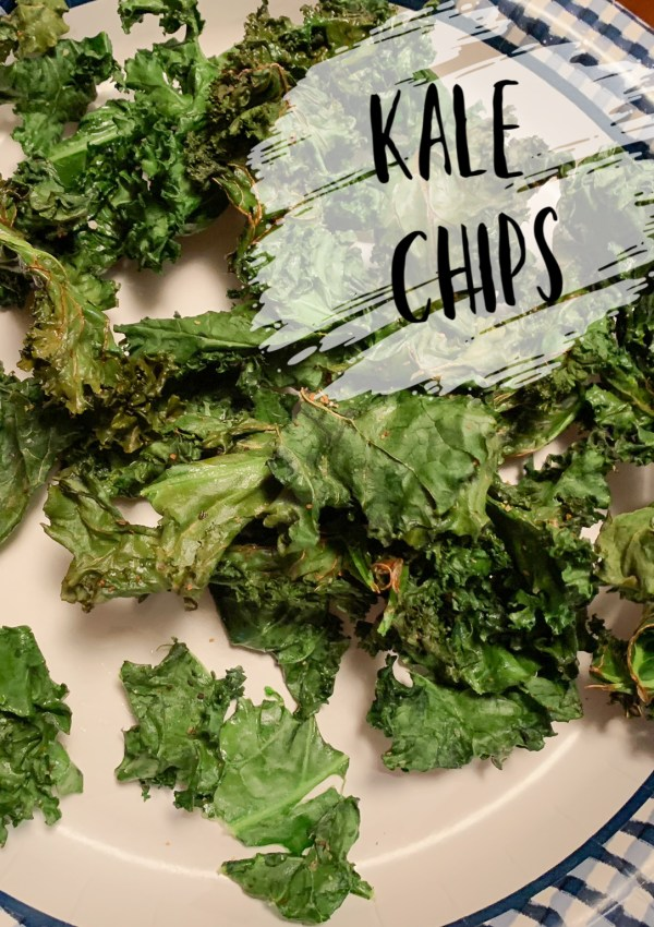 Quick & Easy Air Fryer Kale Chips!