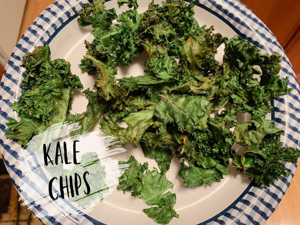 kale, kale chips, healthy, air fryer, gluten free, healthy snack
