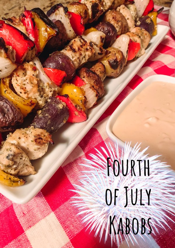 Fourth of July Kabobs!