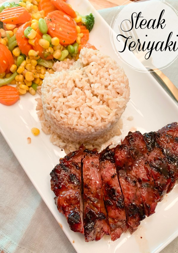 Steak teriyaki is an easy and delicious entree to add to your dinner menu. Use any steak that you'd like and serve with a variety of sides!