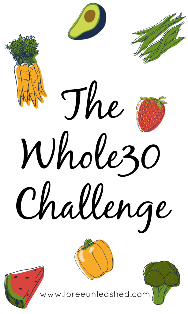 The Whole30 is a reset for our bodies, to learn what foods may be problematic for us.  It's only 30 days, we can do it!