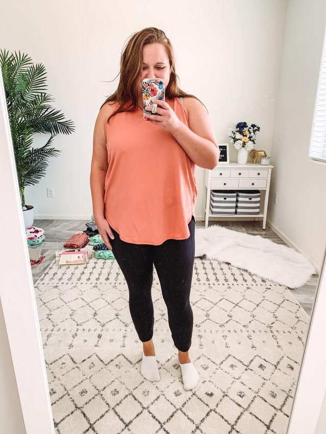 Purchasing new workout clothes when you haven't been motivated to workout can often do the trick!  For a little while anyways, right!?