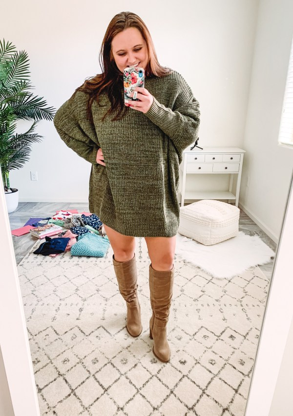 SHEIN hauls are always a hit or miss for me. This sweater and sweater dress are two must-haves from my recent order though!