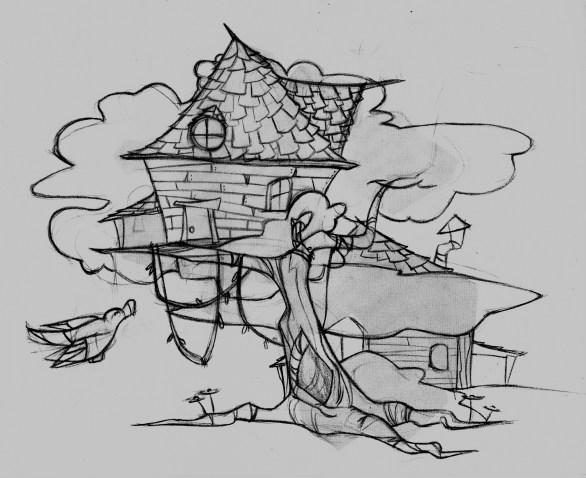 Treehouse Sketch
