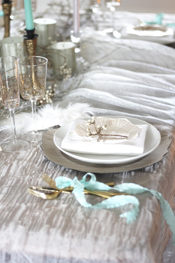 Wintry Dream Tablescape