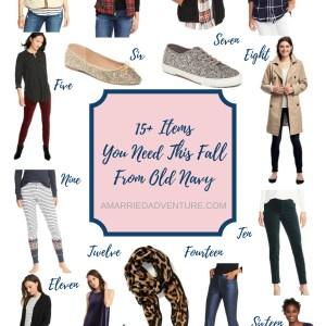 15+ Fall Items You Need From Old Navy