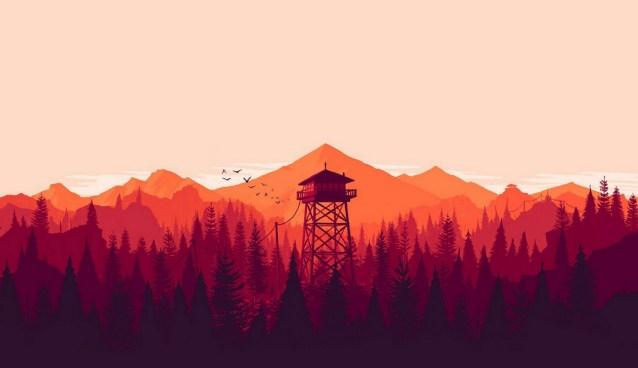 Firewatch main artwork