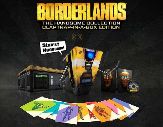 Borderlands: The Handsome Collection contents