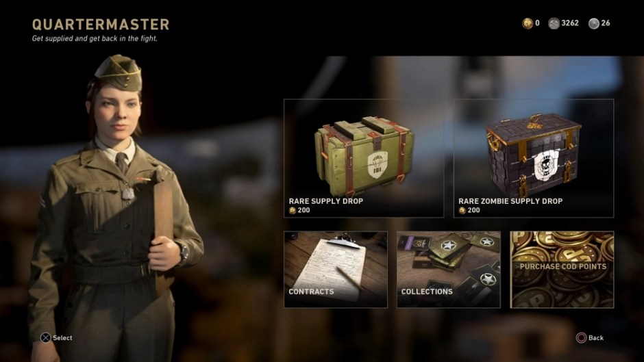Call of Duty WW2 crate buying