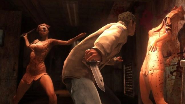 Killing Nurses in Silent Hill