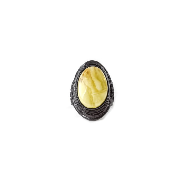 leather-ring-with-natural-baltic-amber-majestic-2