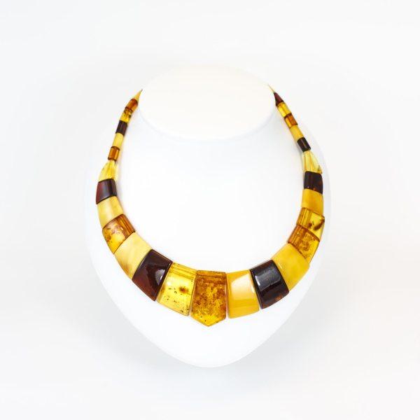 amber necklace chocker cleopatra