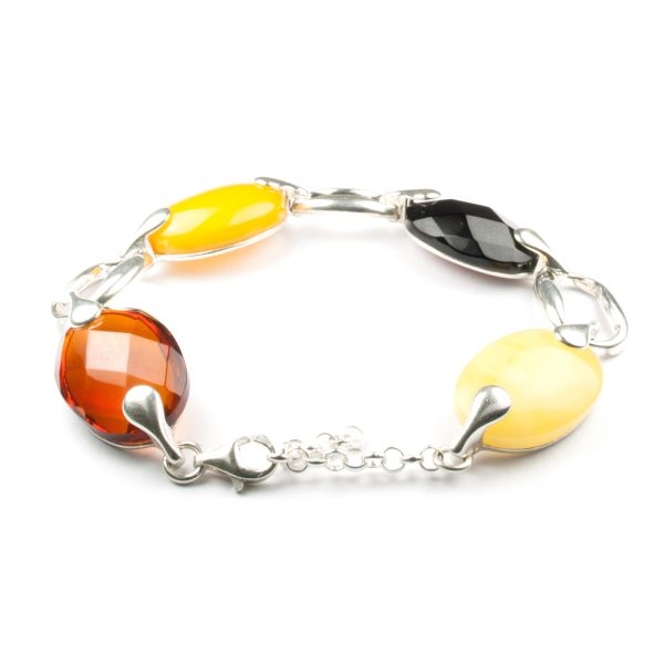 silver-chain-bracelet-with-natural-baltic-amber-fashion-2
