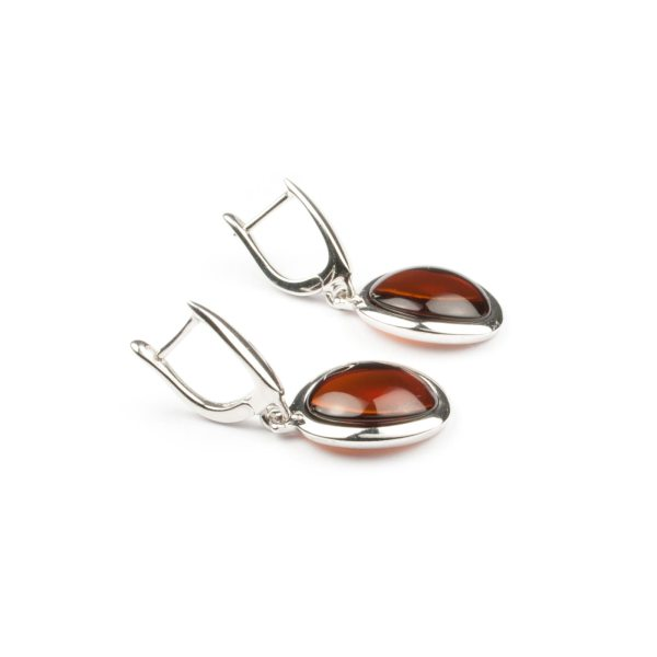 silver-earrings-with-cherry-natural-amber-stone-paris-2