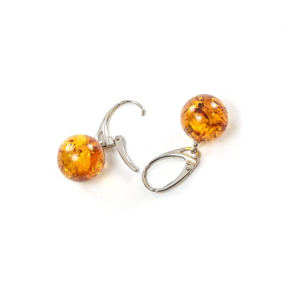 silver-earrings-with-natural-baltic-amber-orange