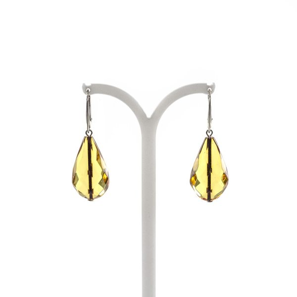 silver-earrings-with-natural-baltic-amber-raindrop-faceted-2