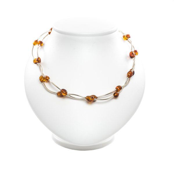 silver-necklace-with-natural-baltic-amber