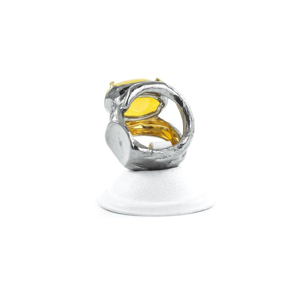 silver-ring-with-natural-yellow-amber-piece-3