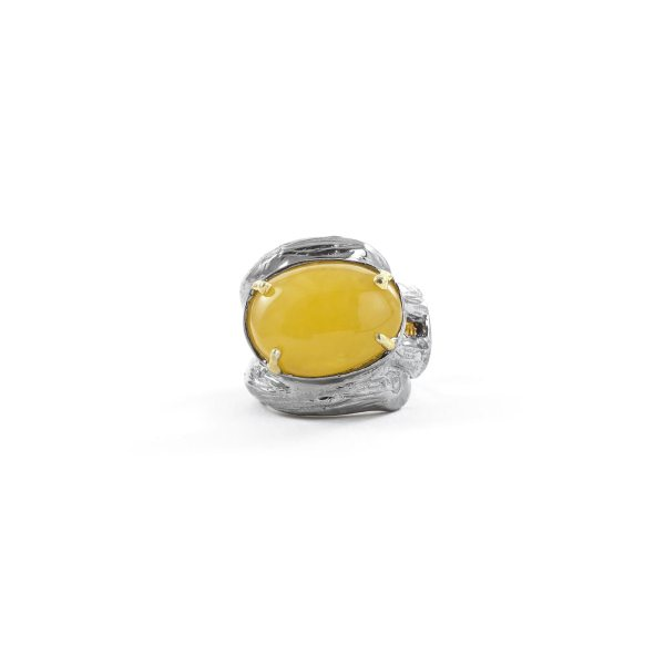 silver-ring-with-natural-yellow-amber-piece-4