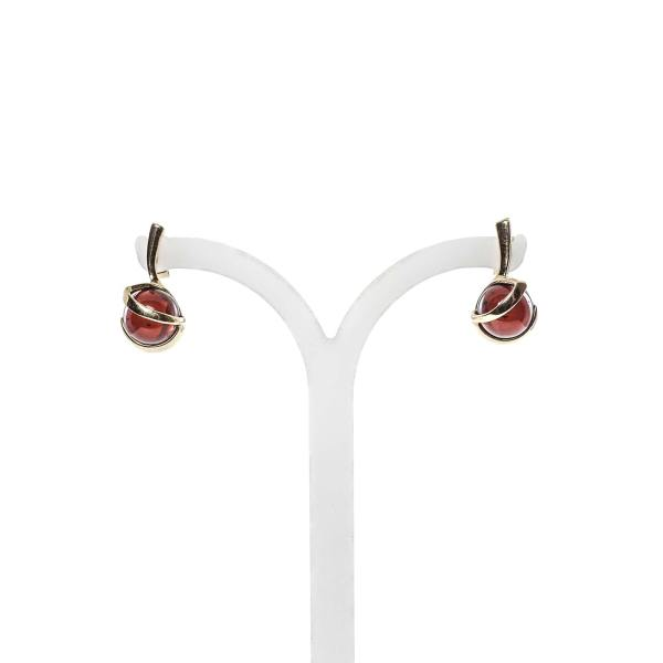 gold-earrings-14k-with-natural-baltic-amber-baroque-cherry-2