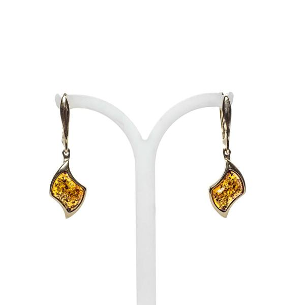 gold-earrings-14k-with-natural-baltic-amber-beau-monde-2