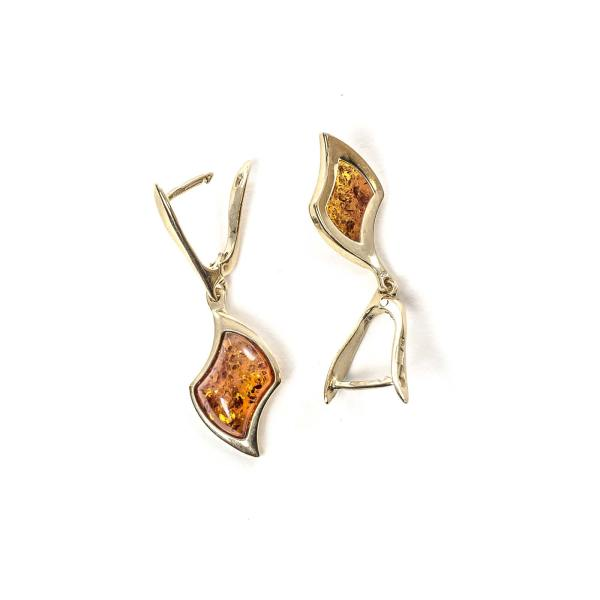 gold-earrings-14k-with-natural-baltic-amber-beau-monde
