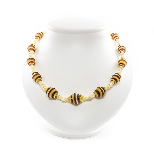 natural-baltic-amber-necklace-honeycomb