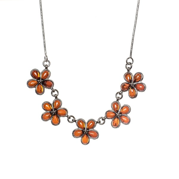 silver-necklace-with-baltic-amber-flower-cherry-2