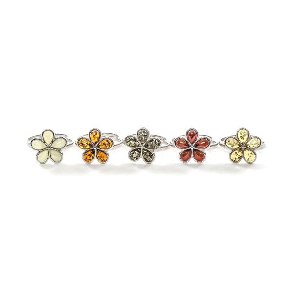 silver-ring-with-natural-baltic-amber-flower