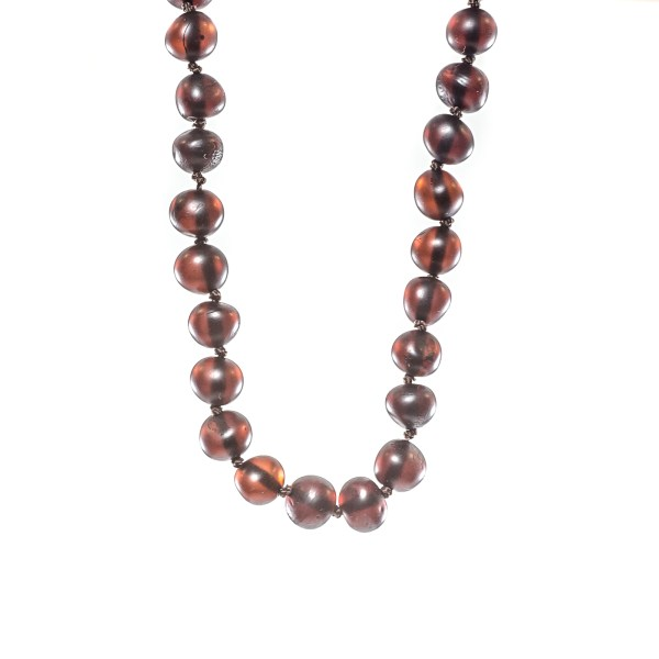 Cherry Beads Necklace close view